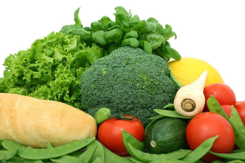 IVA sobre alimentos saudáveis
