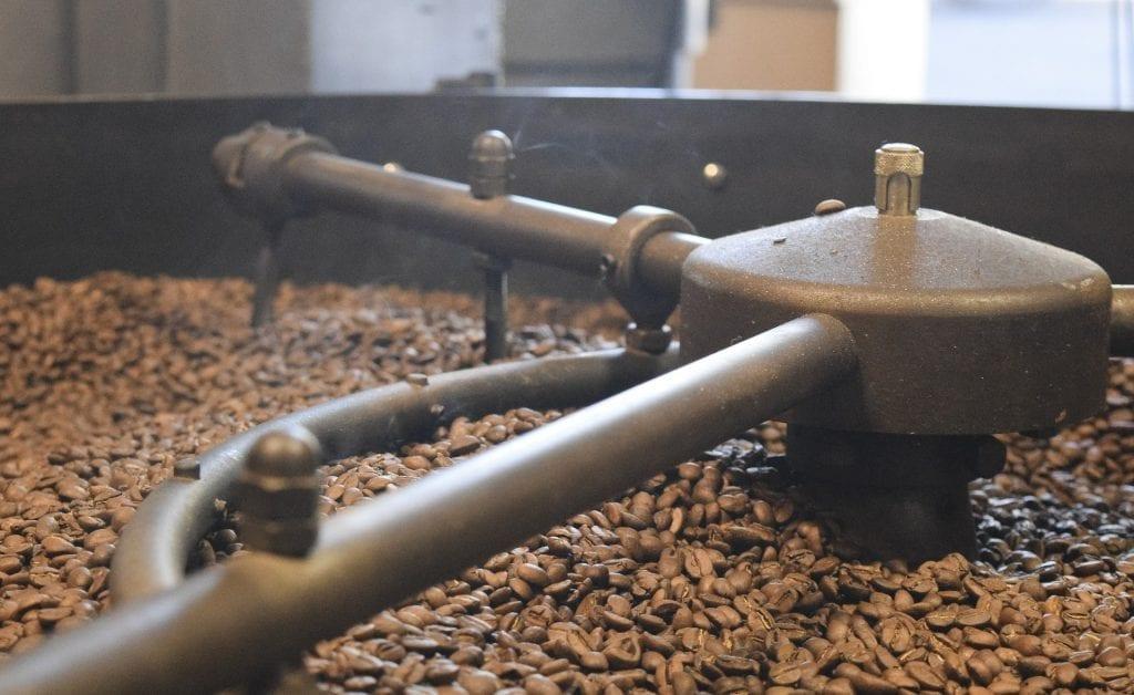 tostado café granos