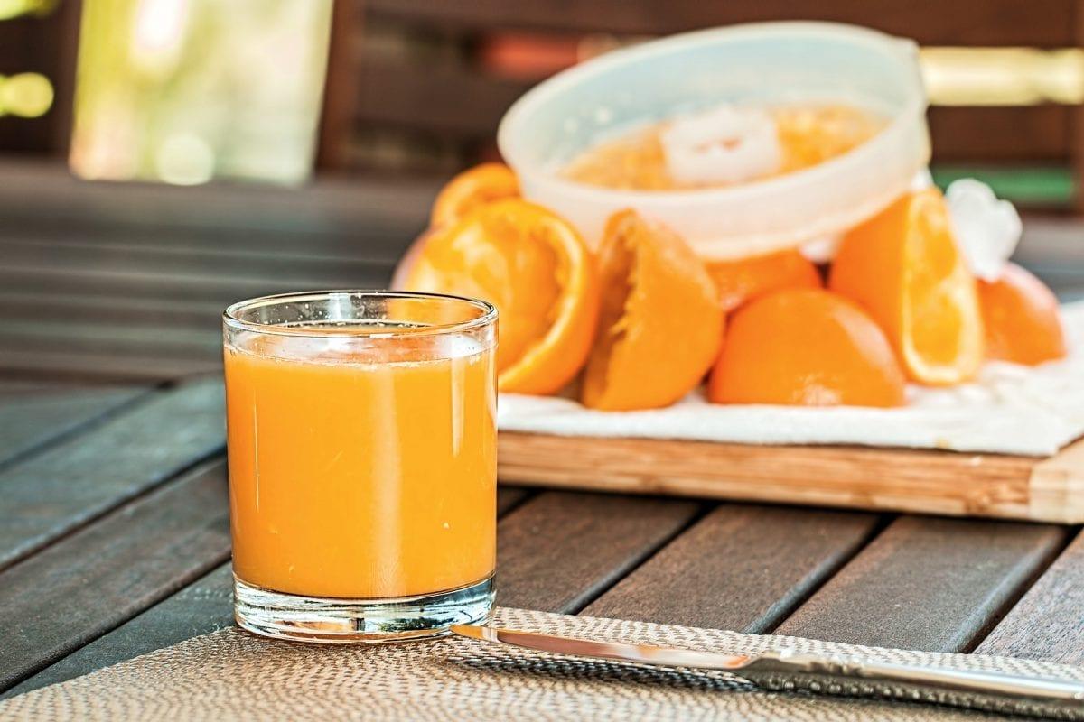 comer con diabetes zumo