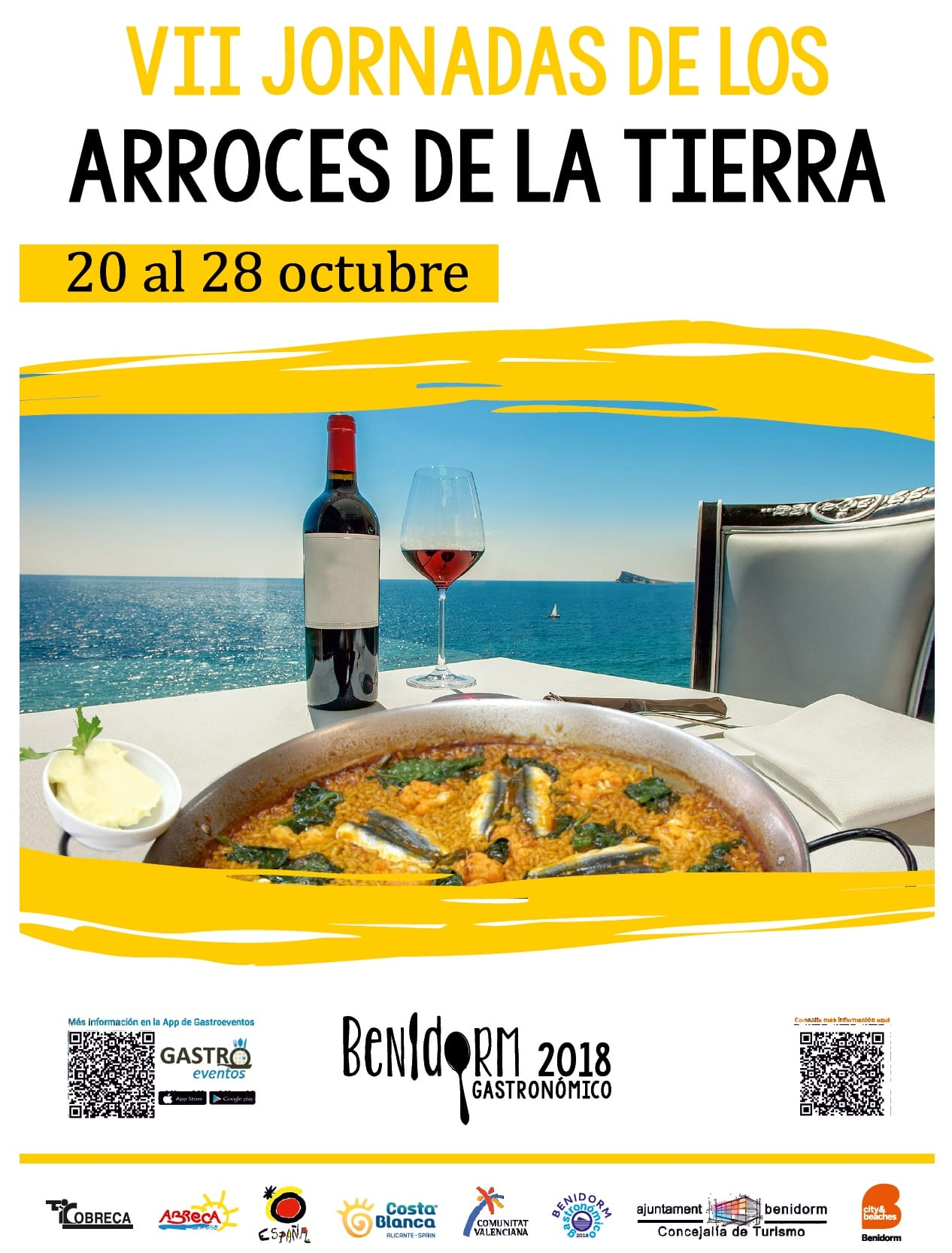 Cartel Jornada Arroces Benidorm