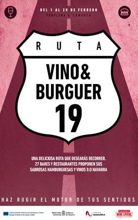vinos y hamburguesas en Pamplona