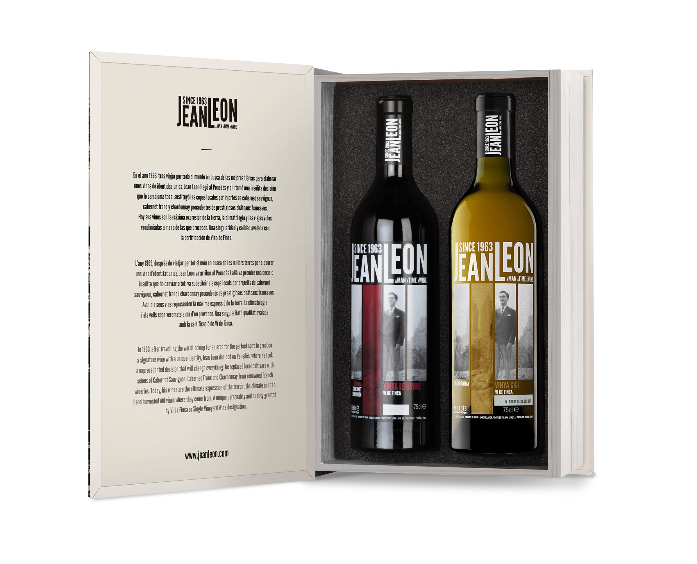 La bodega catalana ha lanzado un original regalo para el próximo Día del Libro que se celebra el 23 de abril. Es el vino más literario de Jean Leon