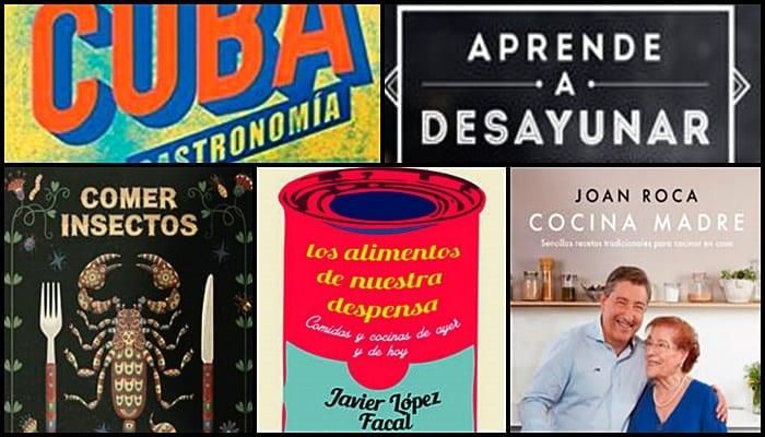 lecturas gastronómicas en el Día del Libro