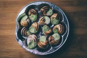 caracoles y algunas recetas sabrosas