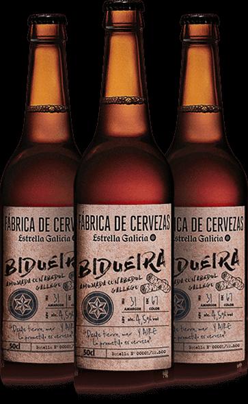 Bidueira cerveza estrella galicia