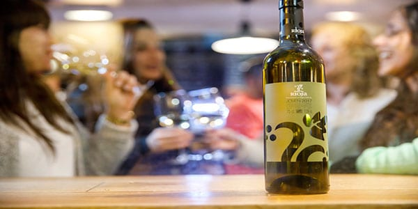 etiquetado de Rioja Cata del Barrio de la Estación