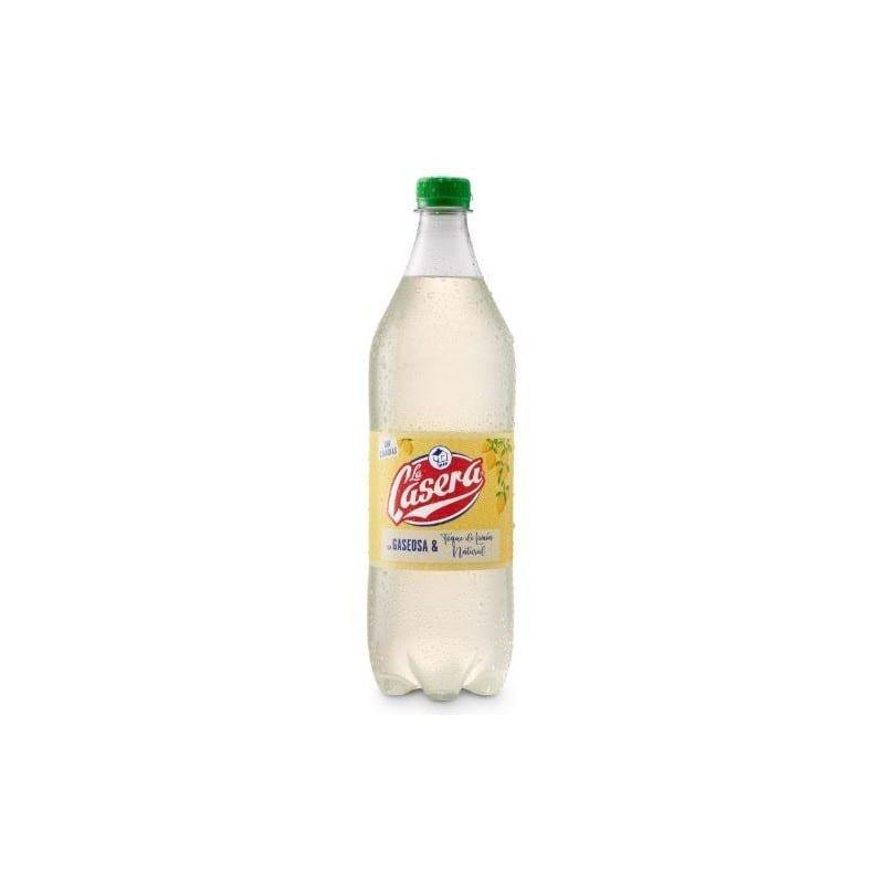 Refrigerante La Casera com um toque natural de limão