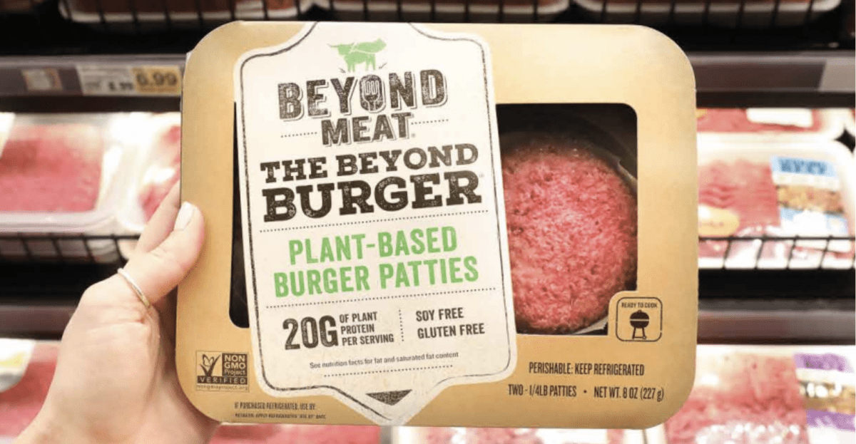 hamburguesa Beyond Meat