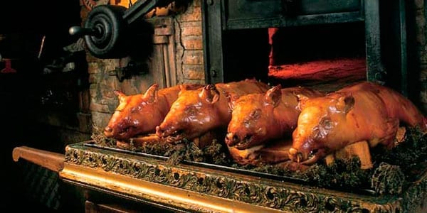 Restaurante Casa Duque cochinillos