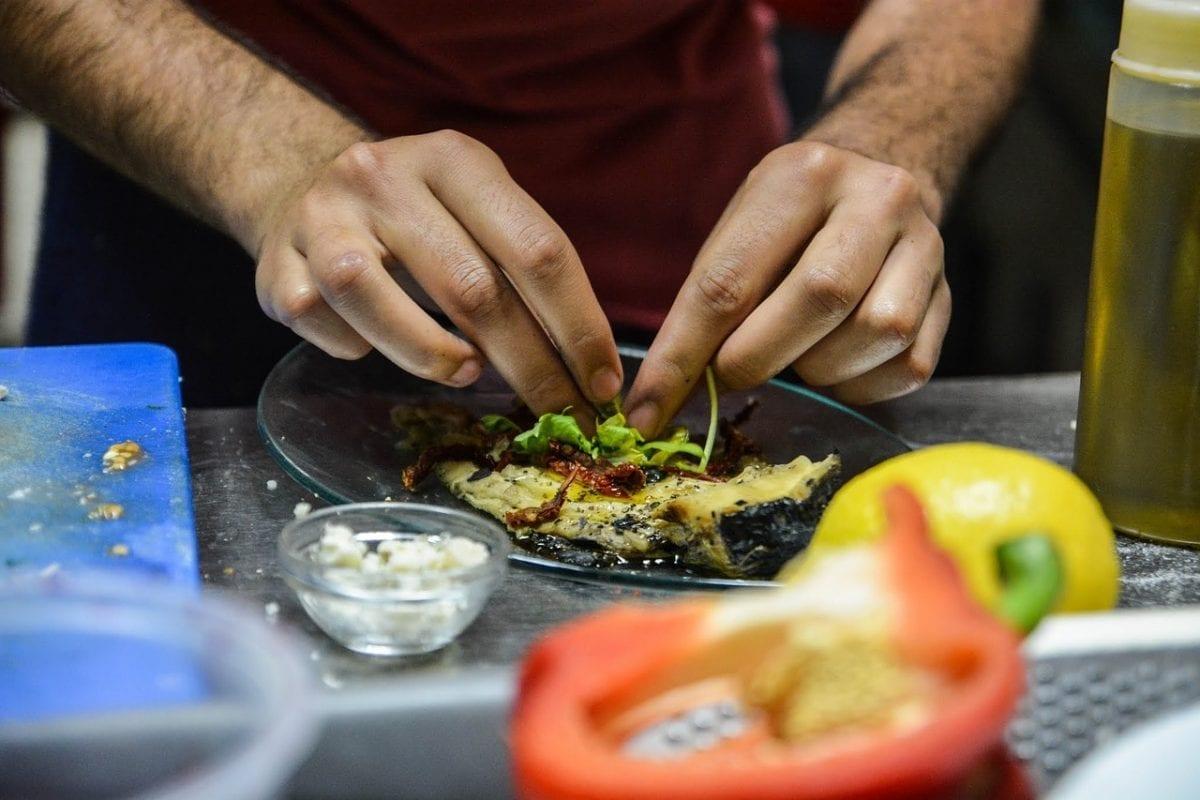 la pérdida del gusto plato cocinar chef