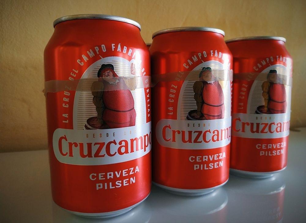 la mala fama de la cerveza Cruzcampo