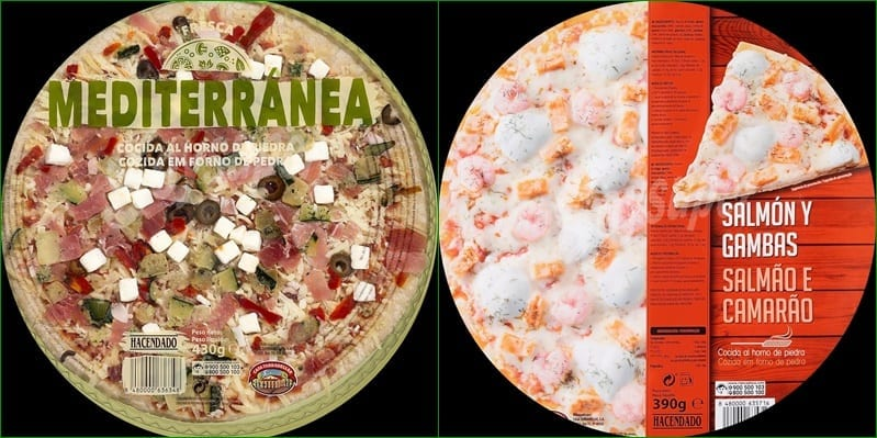 mejores pizzas de Mercadona