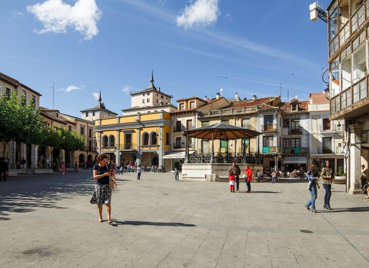 Ciudad Europea del Vino plaza
