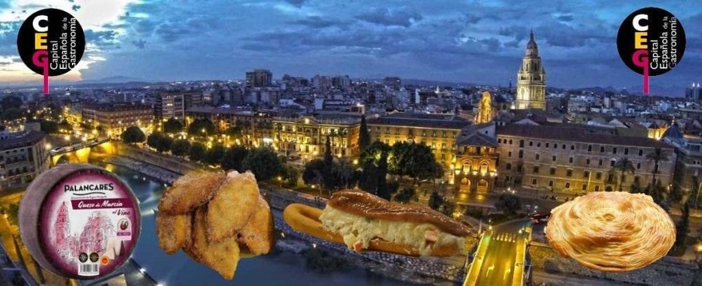 gastronomía de Murcia capital de la gastronomía 2020