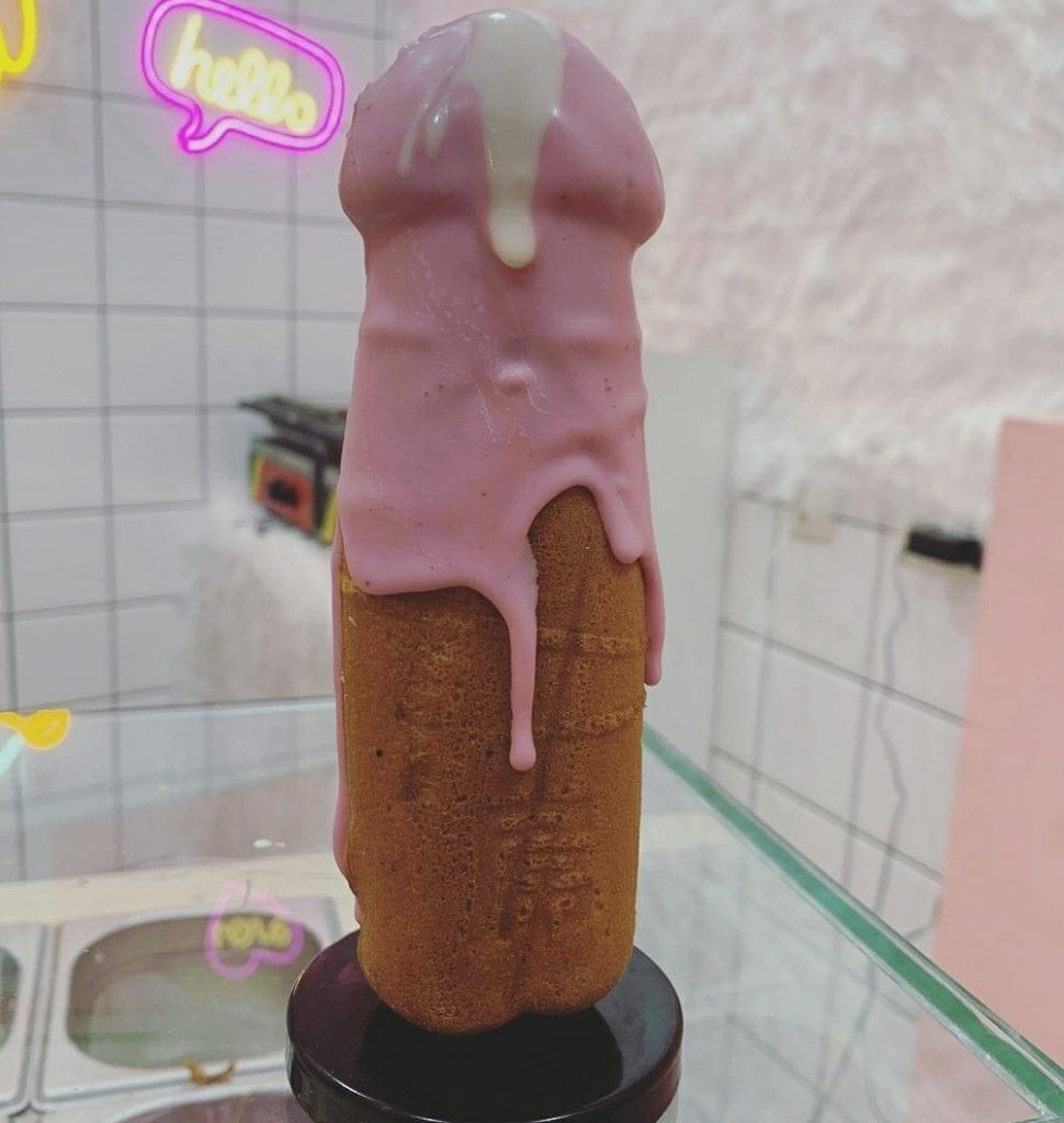 gofres de pene