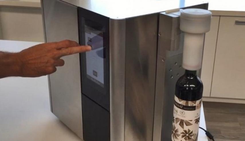 máquina para reducir alcohol en vinos