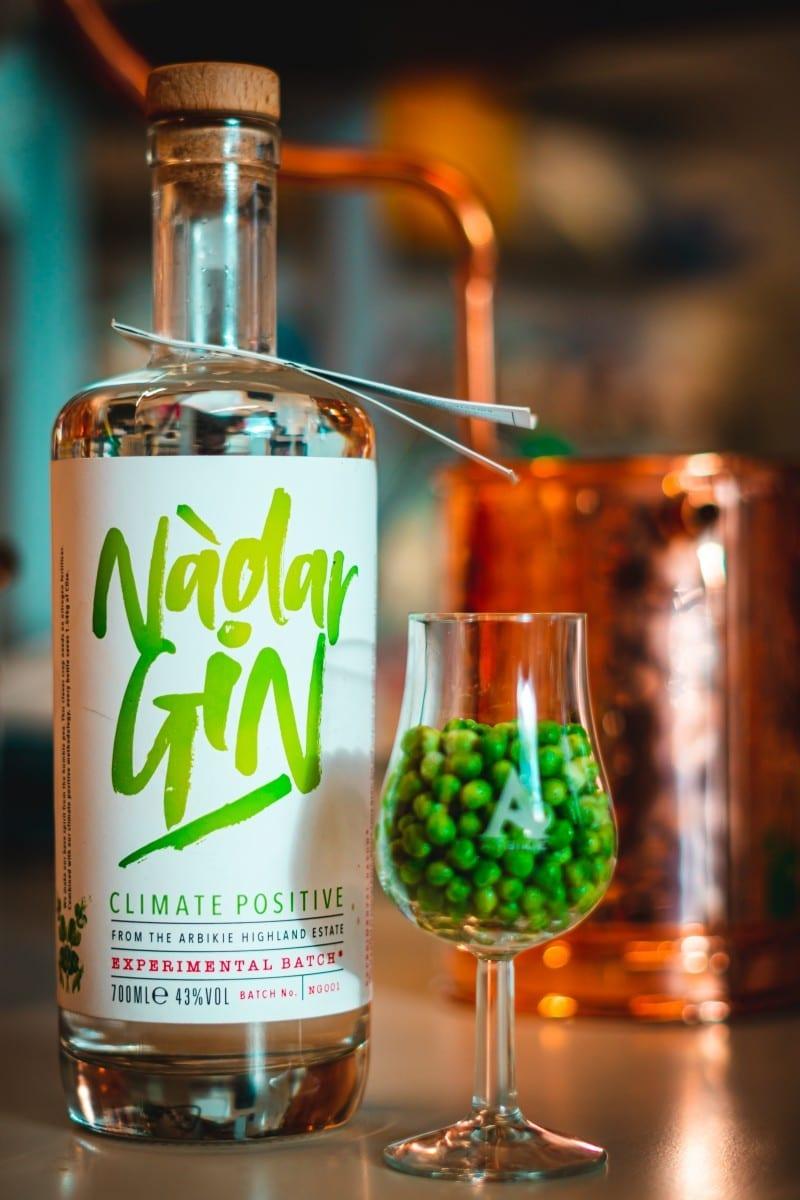 Nàdar Gin ginebra guisantes