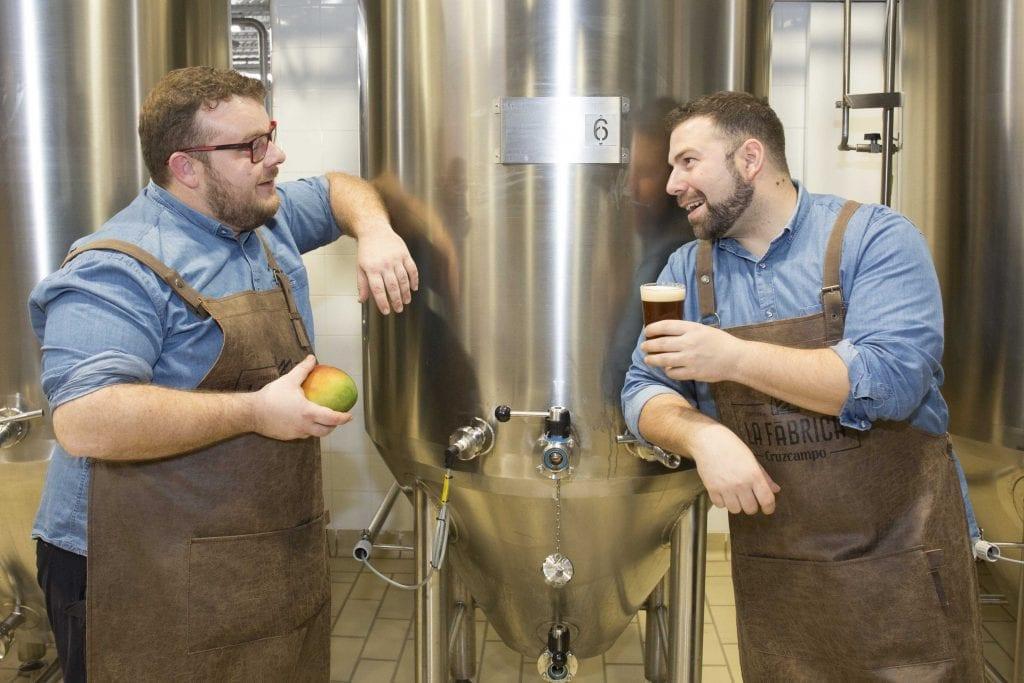 maestros cerveceros con mango