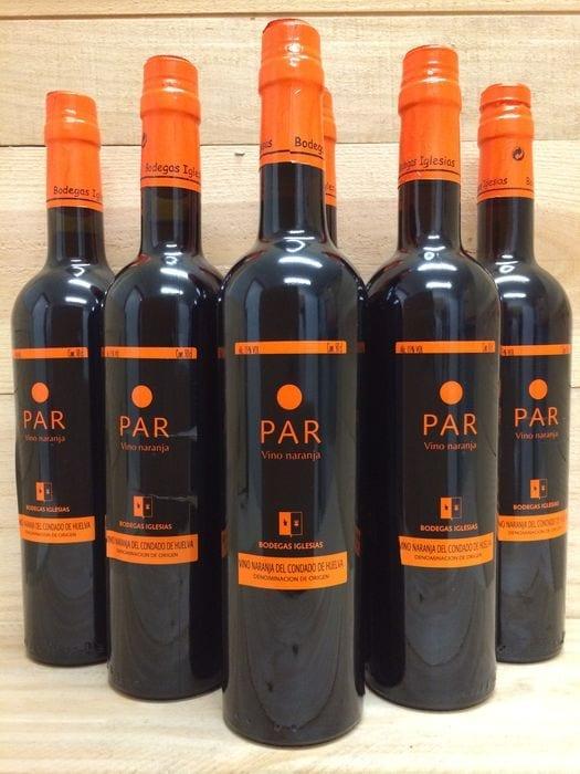 vino naranja condado de huelva