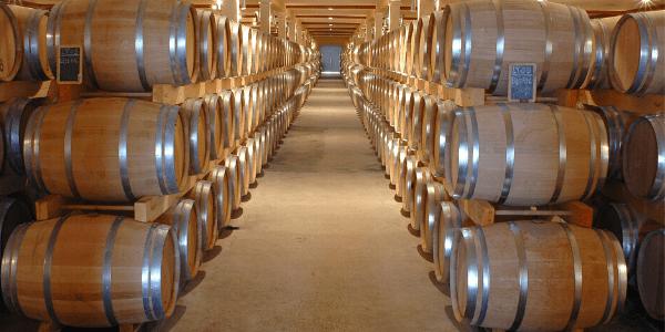 la madera en el vino