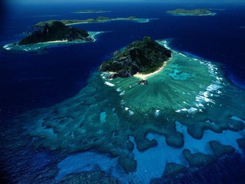 Dos islas de Fiji