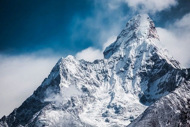Pico de un monte