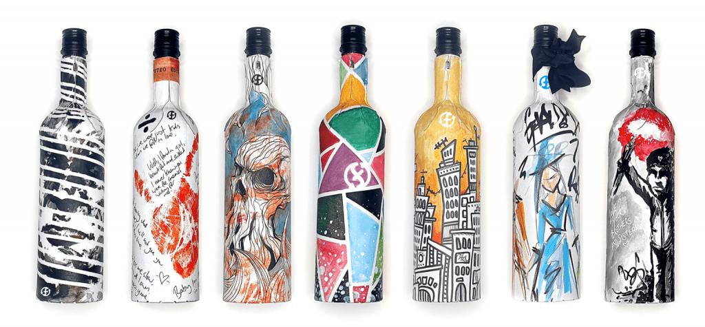botella de cartón para vinos