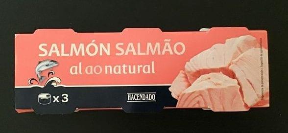 salmón al natural mejores pescados en conserva de Mercadona