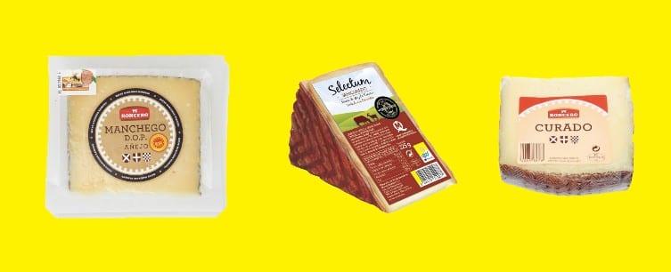 mejores quesos de Lidl