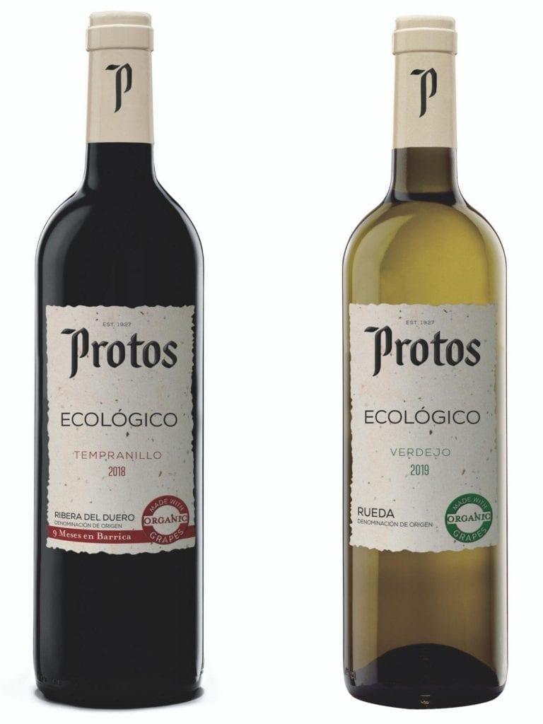 botellas vino ecológico