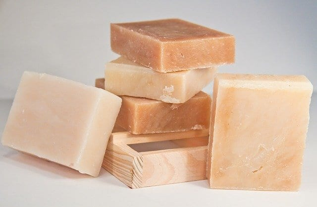 Pastillas de jabón natural