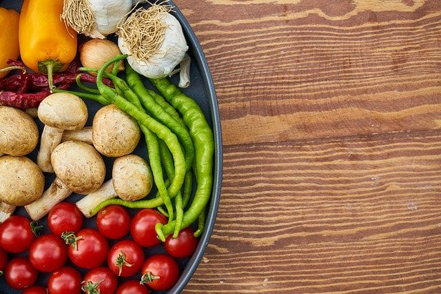 Surtido de vegetales