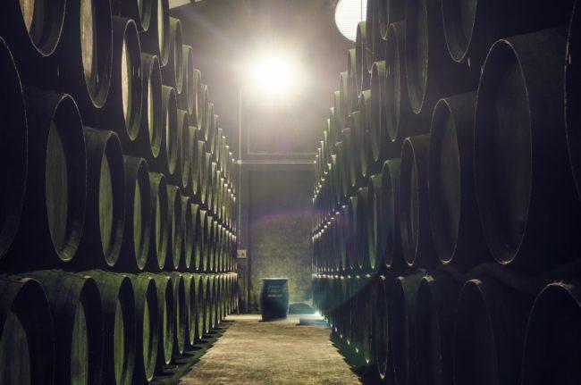 Bodega de vinos de Jerez mejor brandy del mundo