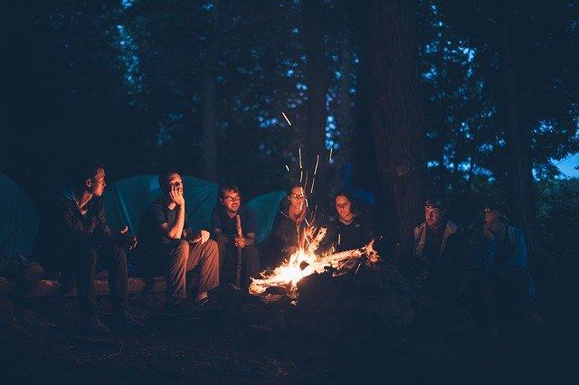 Una acampada