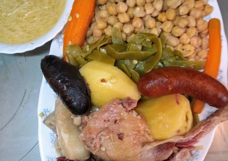 Cocido madrileño gastronomía madrileña