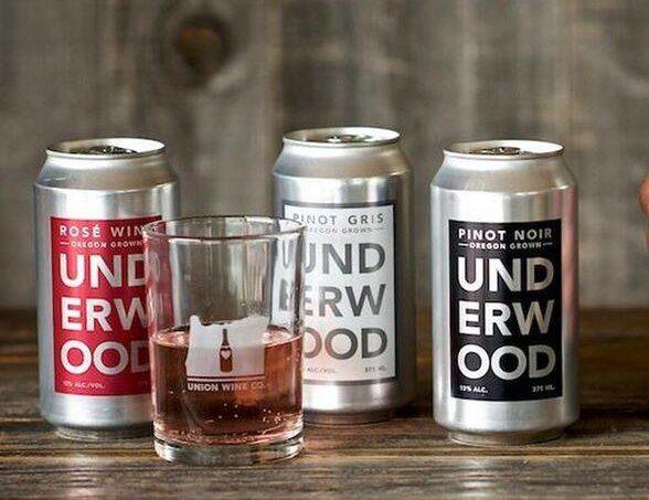 Latas de vino Underwood