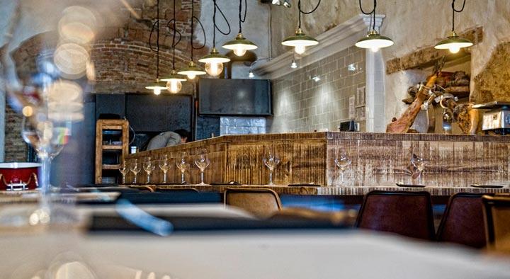 mesas y ambiente restaurante