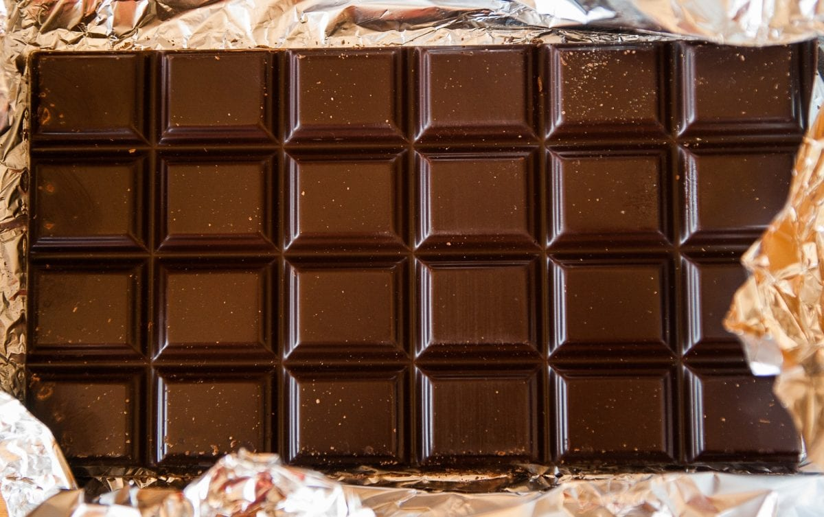chocolate na áfrica