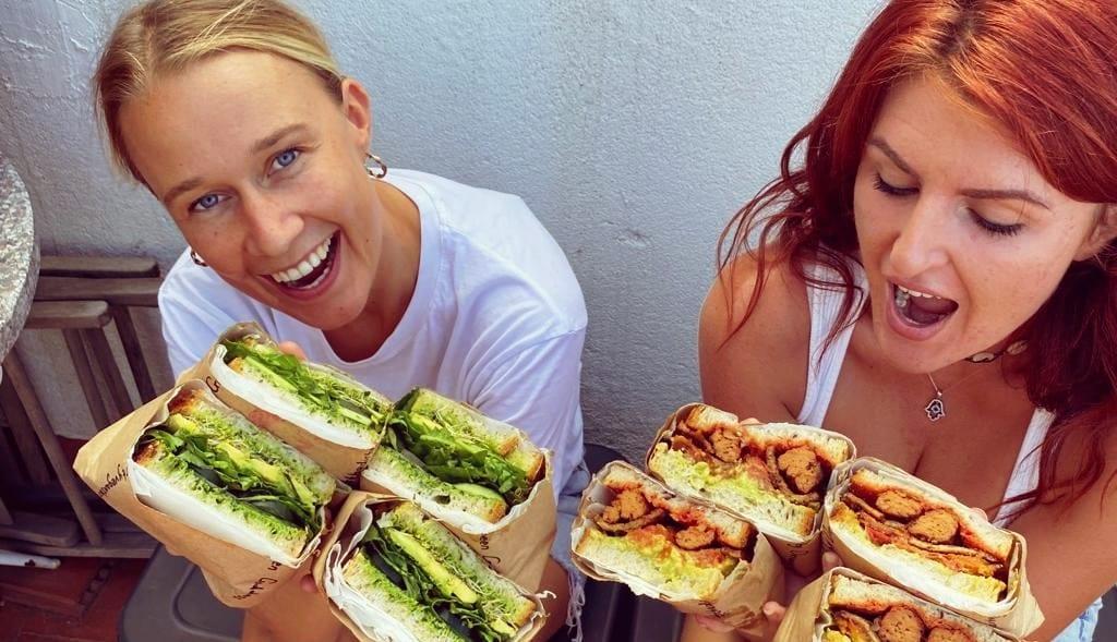 sándwich vegetales sándwiches veganos en Barcelona