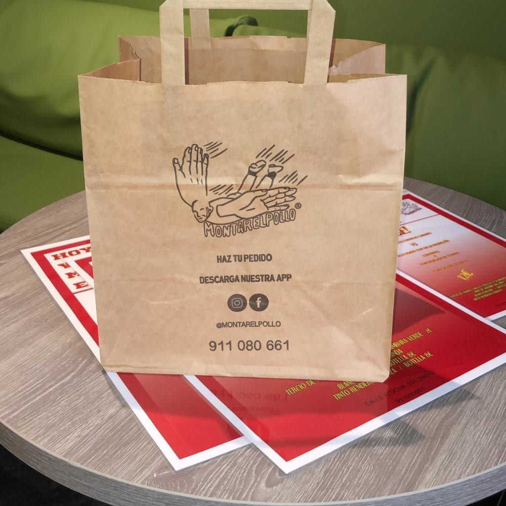delivery take away pollo