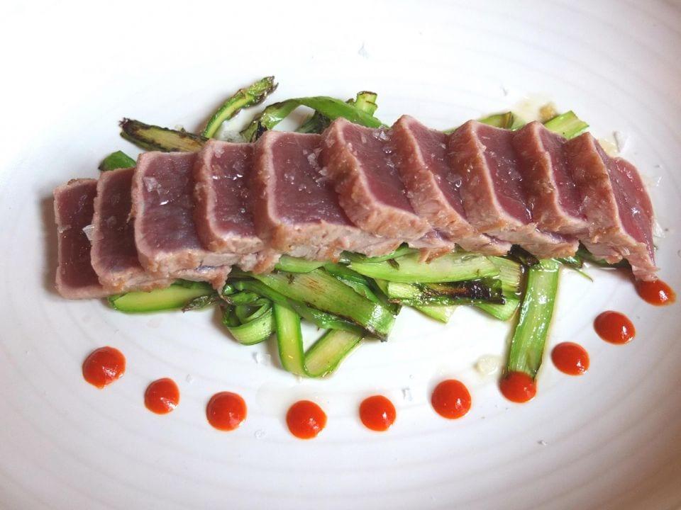 atún rojo plato