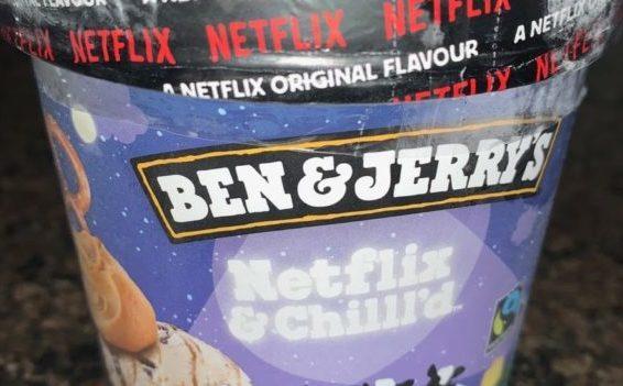 Tarrina del helado Netflix and chill'd