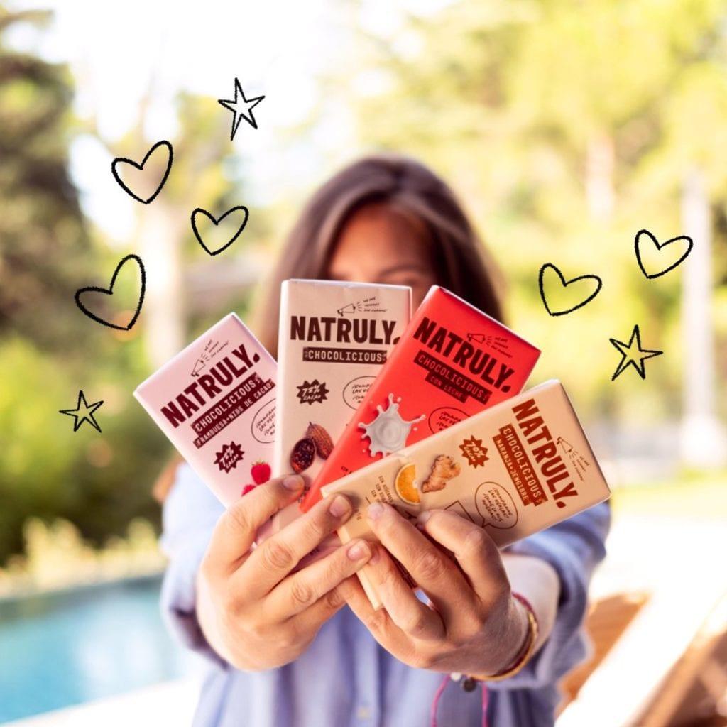 Chocolate sin azúcar Natruly/Fuente: @natruly_es en Twitter