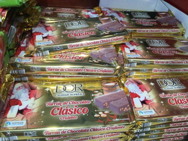 Turrón de chocolate clásico