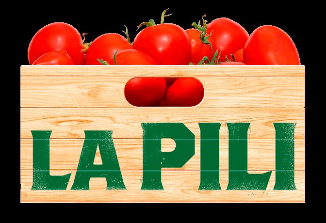 tomates en una caja