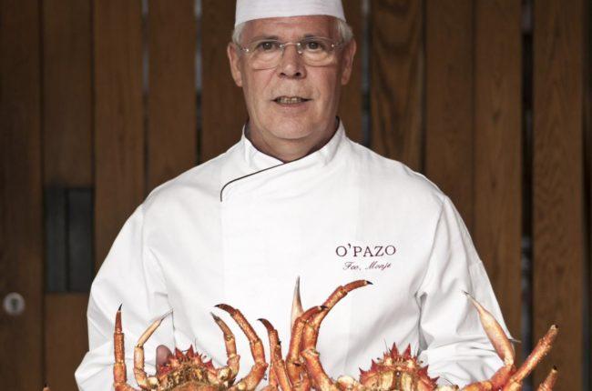 Chef del restaurante opazo