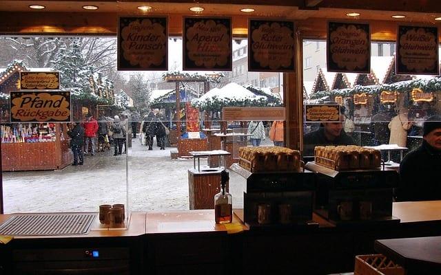 Mercado navideño en Alemania