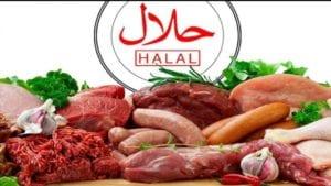 comida halal/propiedades de la carne halal