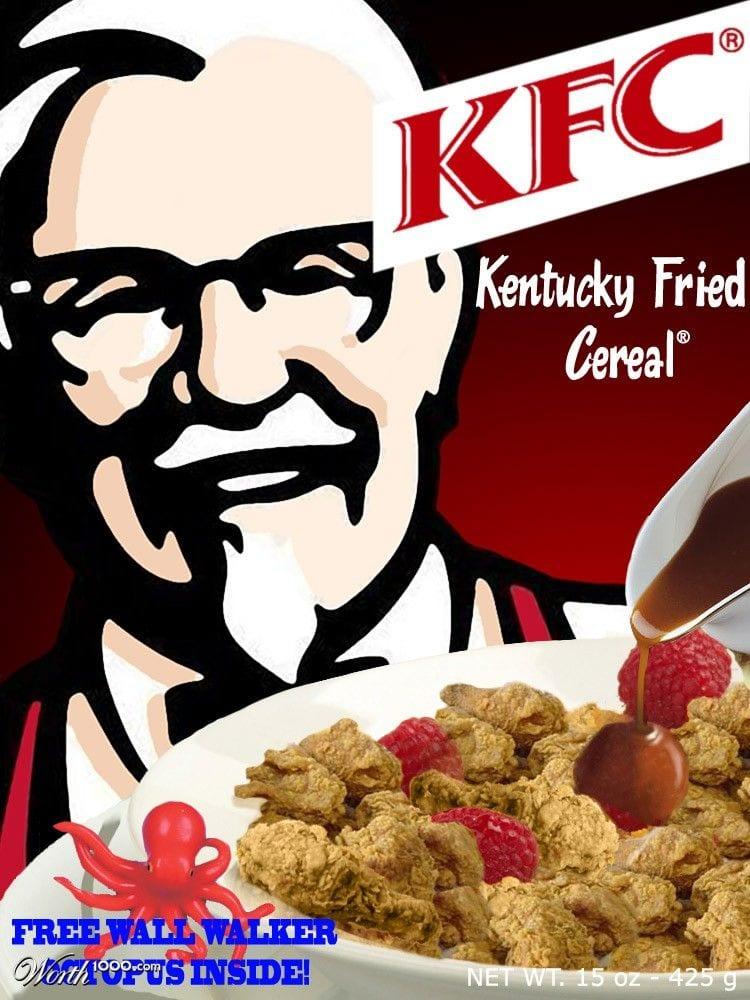 kfc cereales mas raros