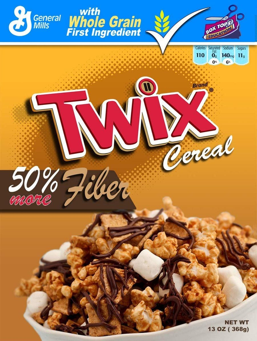 los cereales mas raros twix